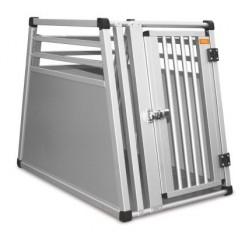 Aluminiumsbur til hund på max 15 kg