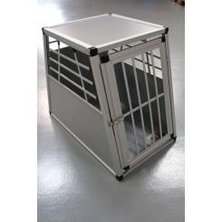 Aluminiumsbur til hund på max 30 kg