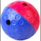 Aktivitetsbold i hård plast, mellem ø 12 cm