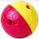 Aktivitetsbold i hård plast, stor ø 15 cm