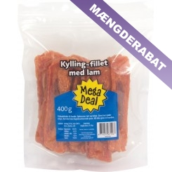Kylling filet med lam, 400 gram