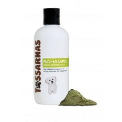 Tassarnas grøn ler schampoo