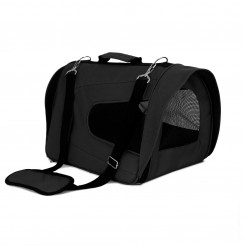 Bæretaske/transporttaske til hund, sort