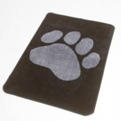 Hunde måtte 67 x 100 cm, sort