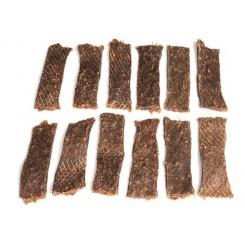 100% Harekød strips, 200 gram