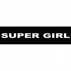 "K9 label "" Supergirl"""