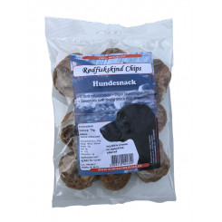Rødfiskeskind Chips