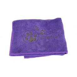 Microfiber håndklæde, lilla