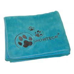 Microfiber håndklæde, turkis