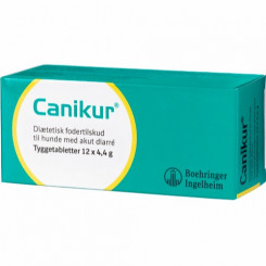 Canikur tyggetabletter 12 x 4,4 g