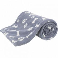 Kenny blå/grå tæppe, 150 x 100 cm