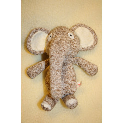 Strikket elefant 19 cm