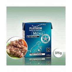 Platinum menu Fisk og Kylling (vådfoder)