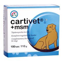Cartivet+ MSM 100 tabl.