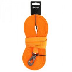 Lang line med refleks, 15 meter, Orange