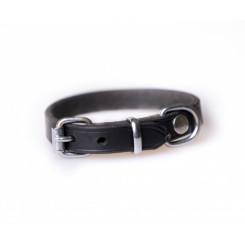 Buffalo læderhalsbånd, sort